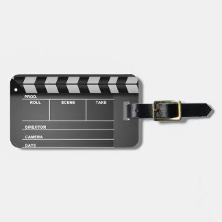 Movie Clapboard Luggage Tags