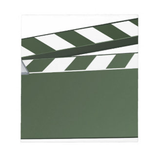 Movie Clapper Board Background Notepad