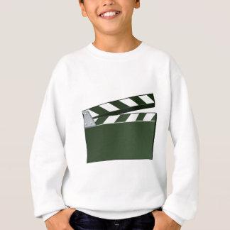 Movie Clapper Board Background Sweatshirt