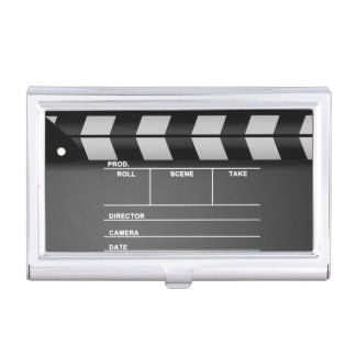 Movie Clapper Board Card Holder