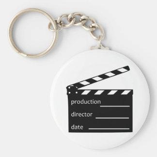 Movie clapper keychain