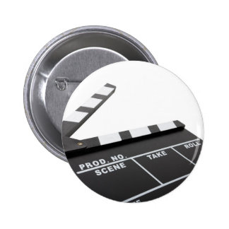 movie clapperboard action pins