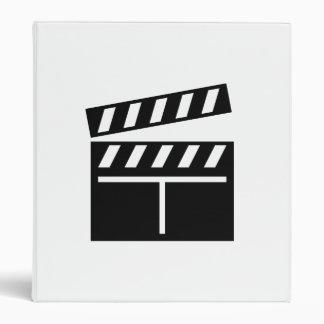 Movie Clapperboard Vinyl Binder