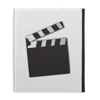 Movie Clapperboard iPad Folio Cases