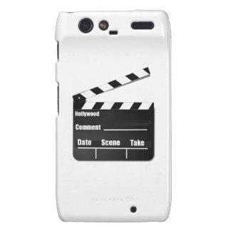 Movie Clapperboard Motorola Droid RAZR Cases