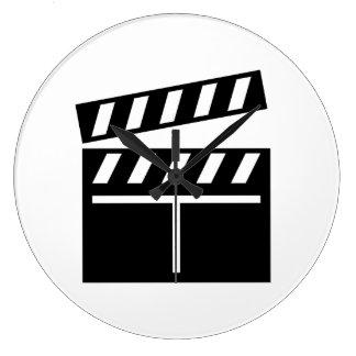 Movie Clapperboard Clocks