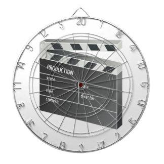 Movie Clapperboard Dart Board