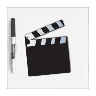 Movie Clapperboard Dry Erase Whiteboards