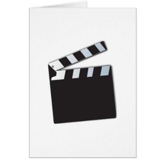 Movie Clapperboard Greeting Card
