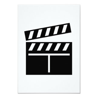Movie Clapperboard Announcement