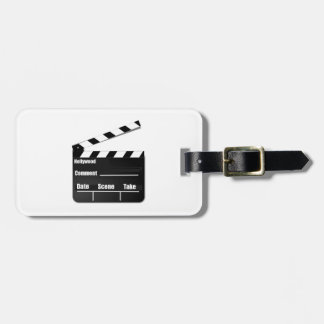 Movie Clapperboard Luggage Tags