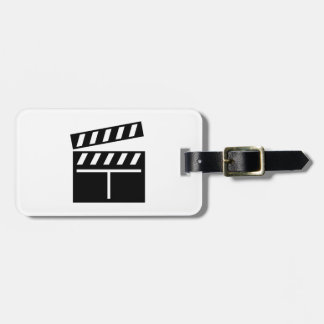 Movie Clapperboard Tags For Luggage