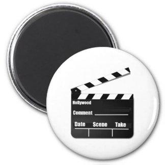 Movie Clapperboard Refrigerator Magnets