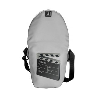 Movie Clapperboard Messenger Bags