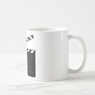 Movie - clapperboard mugs