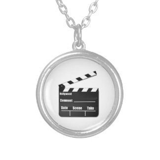 Movie Clapperboard Custom Necklace