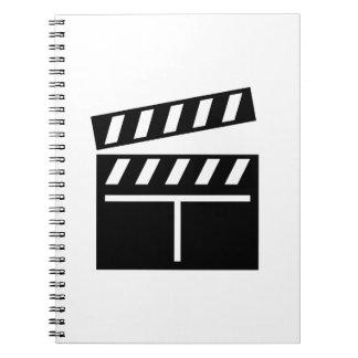 Movie Clapperboard Note Books