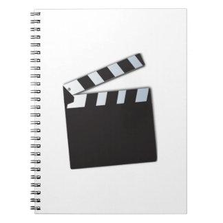 Movie Clapperboard Spiral Notebook