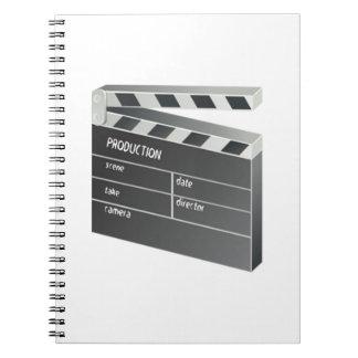 Movie Clapperboard Journals