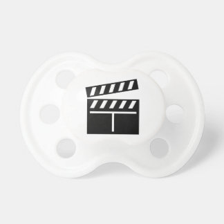 Movie Clapperboard Baby Pacifiers