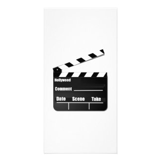 Movie Clapperboard Photo Card Template