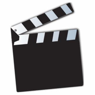 Movie Clapperboard Photo Sculptures