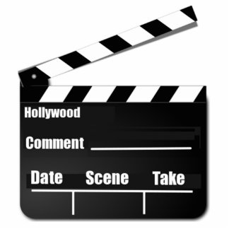 Movie Clapperboard Cut Outs