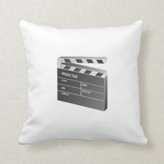 Movie Clapperboard Pillow