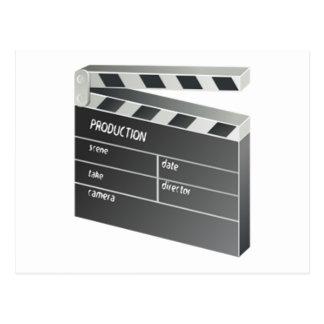 Movie Clapperboard Postcard