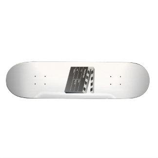 Movie Clapperboard Skate Board Deck