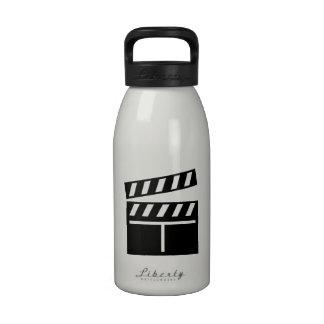 Movie Clapperboard Water Bottles