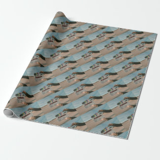 Movie Director Clap Film Cinema Camera Wrapping Paper