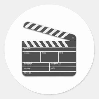 Movie Director Cut Board Sticker