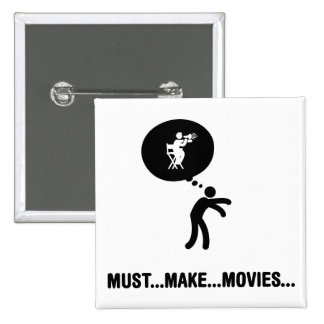 Movie Director Pin
