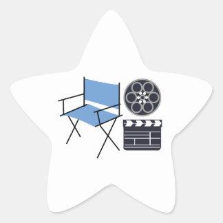 Movie Director Star Sticker