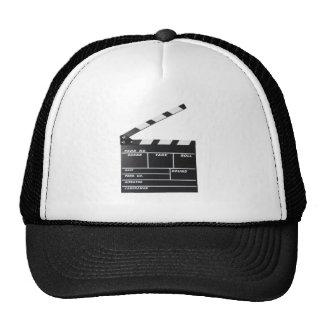 movie film clapperboard hat
