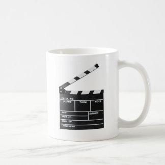 movie film clapperboard coffee mug
