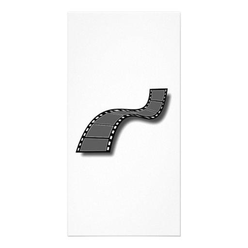 Movie Film Photo Card