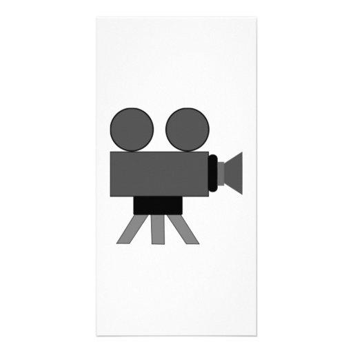 Movie Film Projector Customized Photo Card