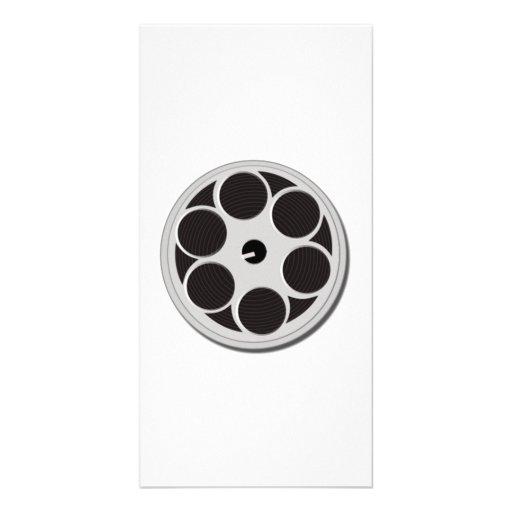 Movie Film Reel Photo Greeting Card