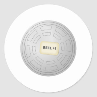 Movie Film Reel Stickers