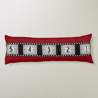 Movie Film Strip Countdown Body Pillow