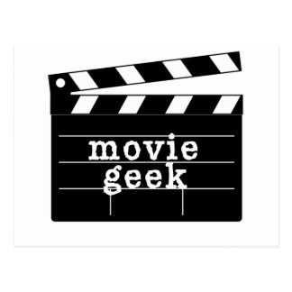 Movie Geek with Clapboard Post Cards