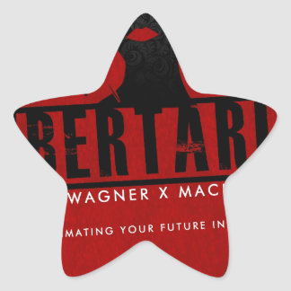 Movie Gifts from Libertaria Star Sticker
