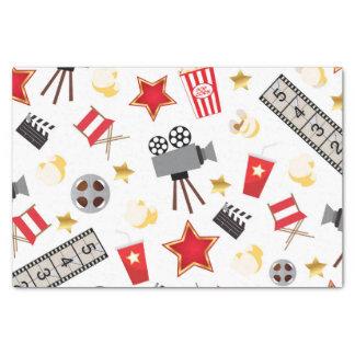 Movie Lover Pattern Tissue Paper