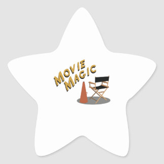 Movie Magic Star Sticker