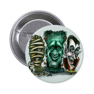 Movie Monsters 2 Inch Round Button