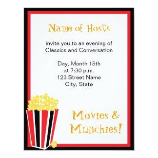 Movie Night Card