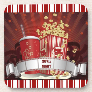 Movie Night Coaster