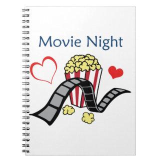 Movie Night Note Book